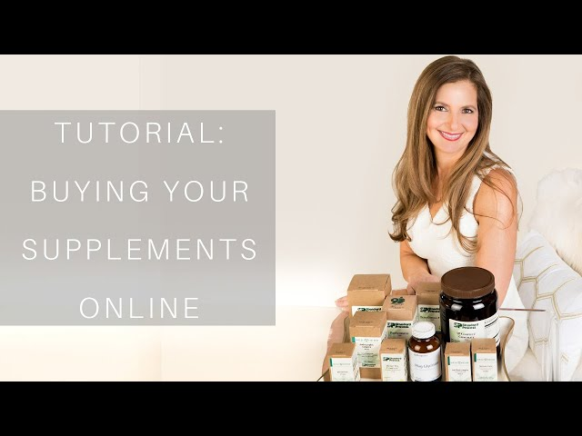 Tutorial: How to Purchase Our Supplements Online