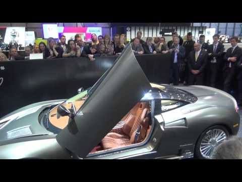 The Spyker C8 Preliator Launch At The Geneva Motor Show