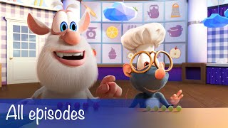 Booba - Food Puzzle Compilation: 3 puzzles + 63 episodes - Cartoon for kids