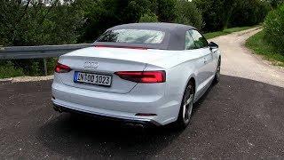 видео Audi S5 Cabriolet (2009-2016) характеристики и цена, фотографии и обзор