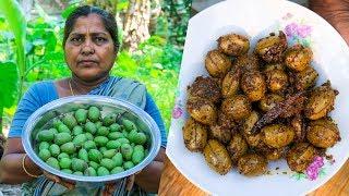 Pickling Olives Recipes (Jolpai Achaar) by Village Food Life
