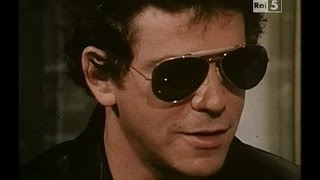 Lou Reed - How Do You Speak To An Angel - Live Firenze 1980