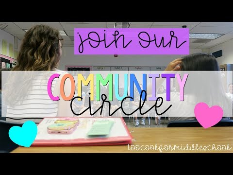 join our community circle!