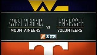 NCAAF 2018 09 01 West Virginia vs Tennessee 720p60