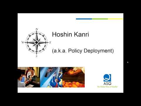 Using Hoshin Kanri to Accelerate Lean & Six Sigma