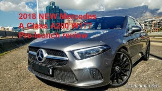 2018/2019 New Mercedes A Class A200 W177 Pre-Launch SA test drive review