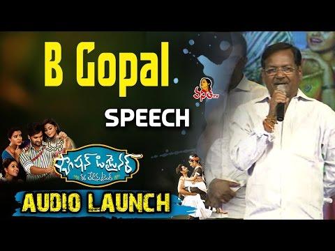 B Gopal Speech @ Fashion Designer S/o Ladies Tailor Movie Audio Launch -- Vanitha TV - 동영상