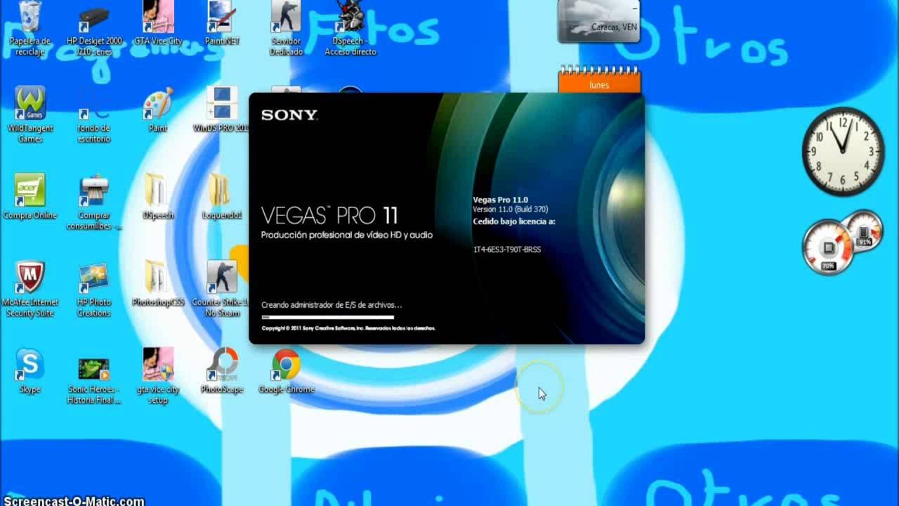 descargar sony vegas pro 7 portable color
