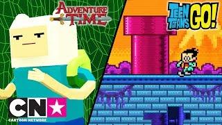 Время приключений + Юные Титаны, вперед! | Видео игры | Cartoon Network