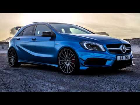 2017 mercedes benz a45 amg premium interior and technology youtube. Black Bedroom Furniture Sets. Home Design Ideas
