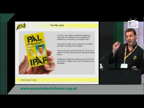 IPAF - Managing MEWPS safely