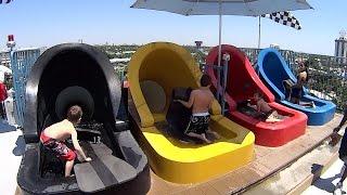 Aqua Drag Racer Water Slide at Wet 'n Wild Orlando