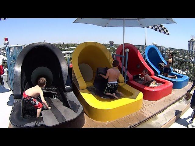 Aqua Drag Racer Water Slide at Wet n Wild Orlando