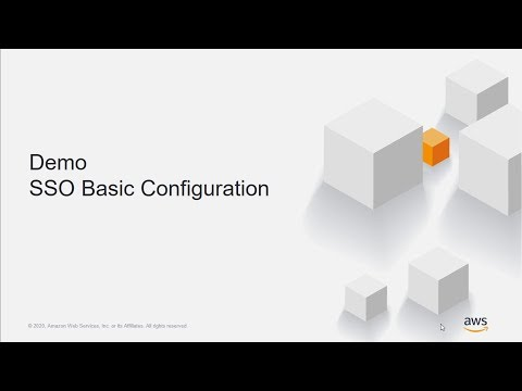 Demo: Basic AWS SSO Configuration