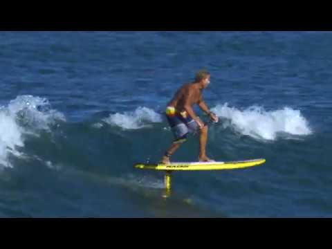 Chuck Patterson Hydro Foiling SUP Maui, Hawaii *4k*  BLUESMITHS Crafted Waterwear