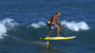 Chuck Patterson Hydro Foiling SUP Maui, Hawaii *4k* | BLUESMITHS Crafted Waterwear