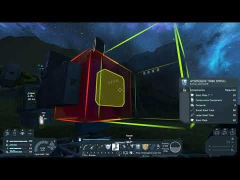 Space Engineers Survival Series S2 Drillship Buggy