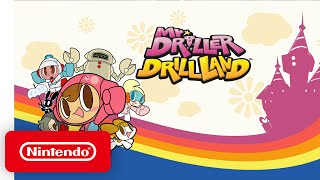 Nintendo Switch - Mr. DRILLER DrillLand  - Announcement Trailer