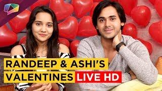 Randeep Rai & Ashi Singh Aka Sameer & Naina Get Candid On Valentines Day | Live HD