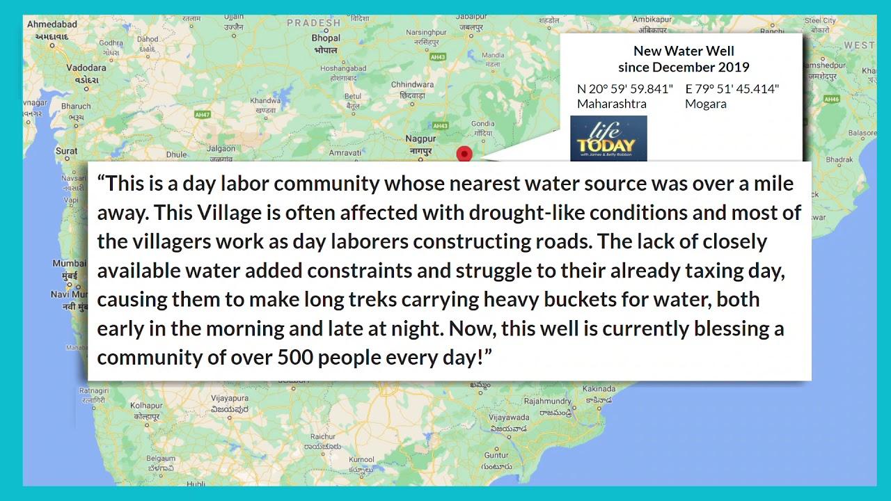 インド・マハーラーシュトラ地域の水井戸プロジェクトのレポート#1