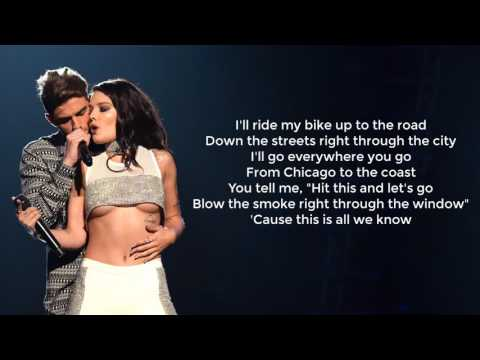 THE CHAINSMOKERS feat PHOEBE RYAN - ALL WE KNOW (LYRICS)