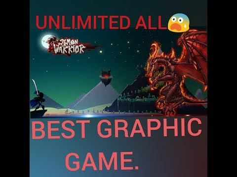 Let's Hack Demon warrior / unlimited resources / best graphic..