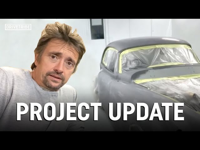Richard Hammond's latest update on his lockdown projects ft. Jaguar XK150 and Honda SS50