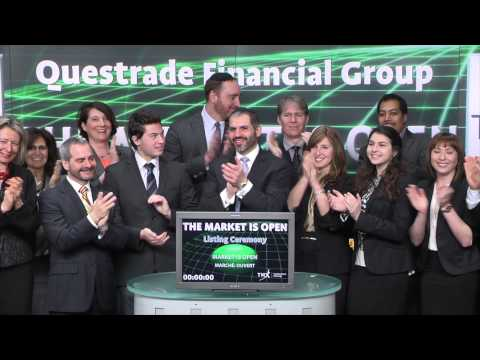 Questrade Financial Group opens Toronto Stock Exchange, March26, 2015