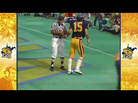 #WVU125: Jeff Hostetler Touchdown Run vs. Pitt | 1983