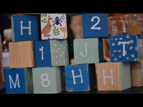 Make Decorative Wooden Toy Blocks - DIY Crafts - Guidecentral
