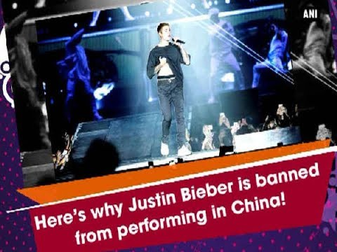 Here's why Justin Bieber is banned from performing in China! - Hollywood News