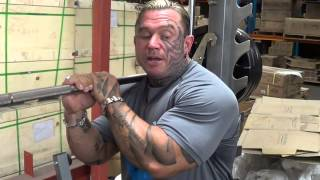 Lee Priest and Nubreed Nutrition Supplements