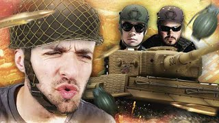 BATTLE ROYALE DE TANKS ! 🤕 (Hand Simulator ft. Locklear, Doigby)