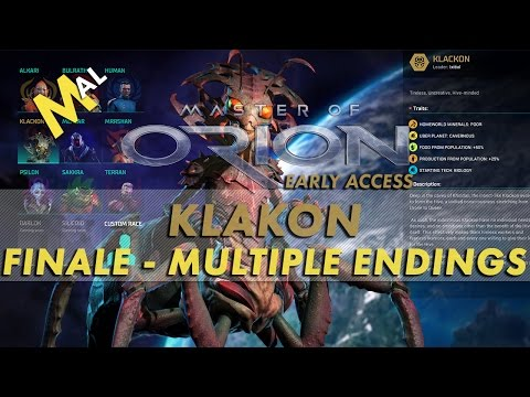 MASTER OF ORION | KLACKON HIVE FINALE | MULTIPLE VICTORY CONDITIONS!