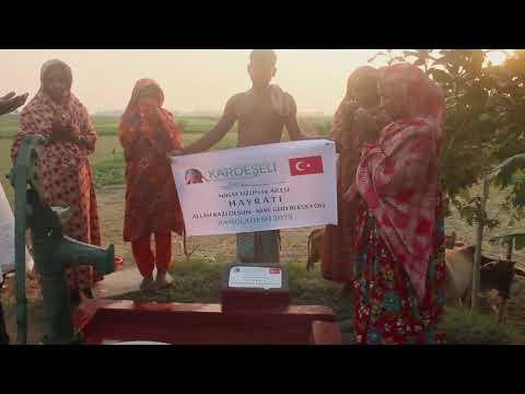 Bangladeş Ülkesi Su Kuyusu Projeleri