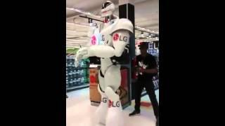 LG Robot Dancing Brasil 2015 | Ziriguidum - Filhos de Jorge