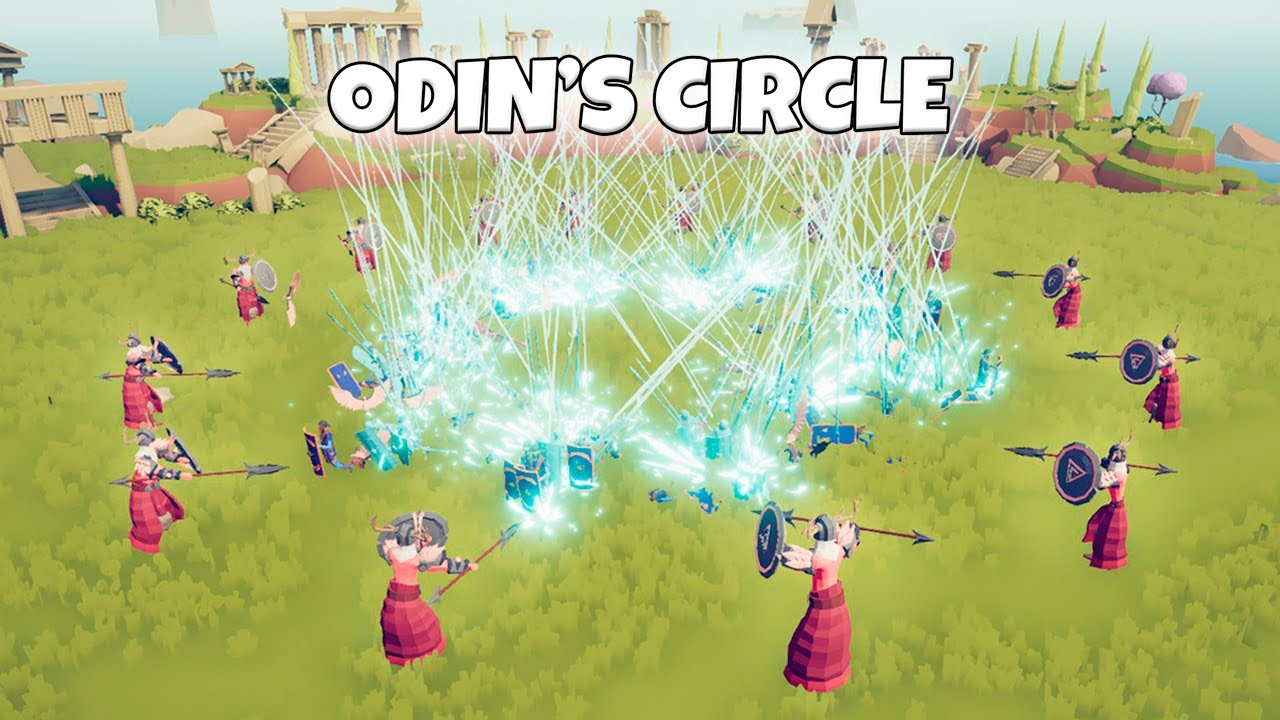 ODIN'S CIRCLE VS EVERY FACTION | TABS MODDED GAMEPLAY