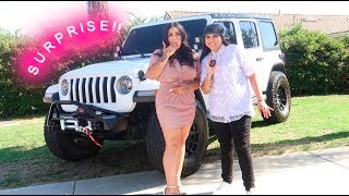SURPRISING MY GIRLFRIEND WITH HER DREAM CAR FOR HER BIRTHDAY **EMOTIONAL**