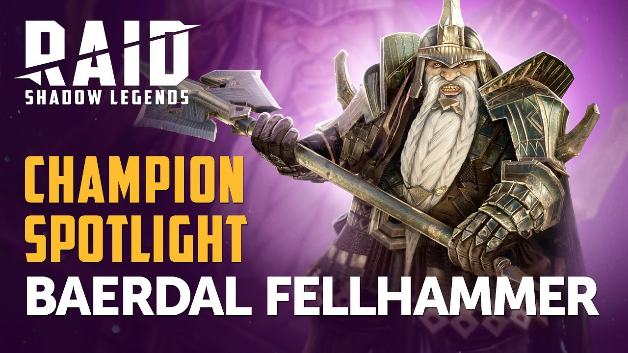 RAID: Shadow Legends | Champion Spotlight | Beardal Fellhammer