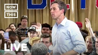 Beto O'Rourke Holds Town Hall in Virginia | NowThis