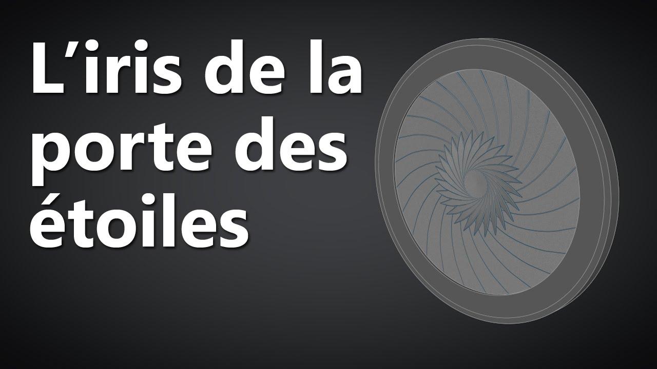 Tutoriel L 39 Iris De La Porte Des Toiles Youtube L Encadrure De La Porte
