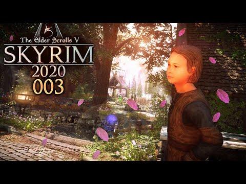 SKYRIM 2020 🐉 003: Weißlauf, Die Perle Tamriels