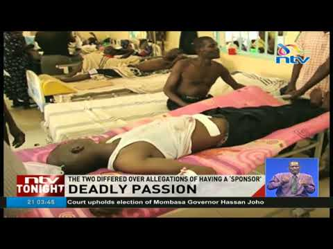 Student kills girlfriend and stabs himself in love triangle