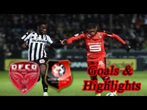 Dijon vs Rennes - Goals & Highlights - Ligue 1 18-19
