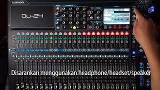 Mixing dangdut di Mixer Allen & Heath Qu24