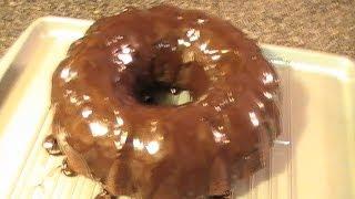 Easy Chocolate Sour Cream Bundt Cake