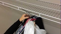 How to Use a Trash Bag to Move Hanging Clothes in Your Closet | Lennar's How to U
