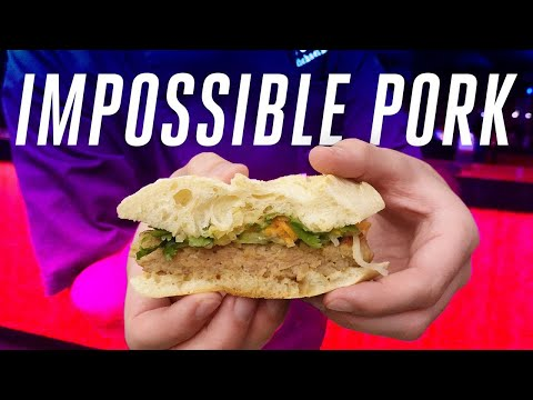 I tasted Impossible Pork at CES 2020