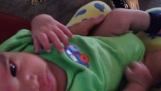 Infant Potty Training - Sylvester @ 1 month old