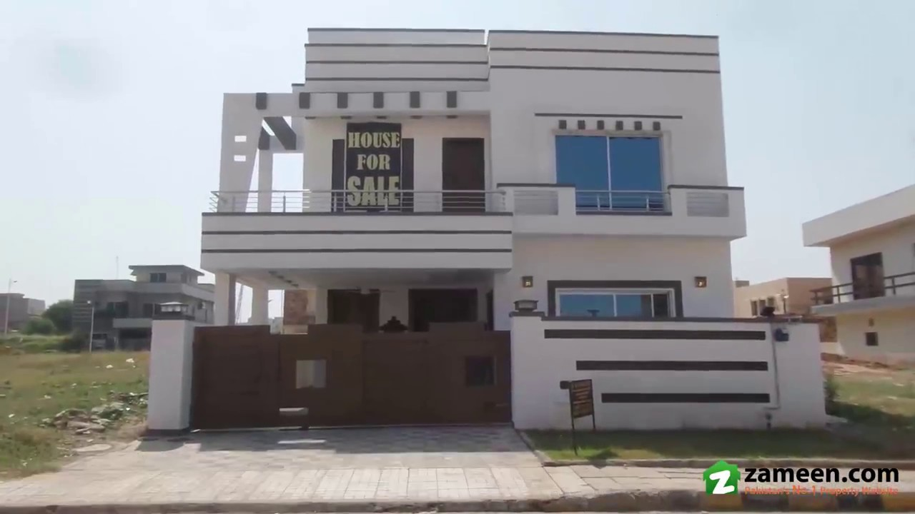 10 Marla House For Sale In Block C Phase 8 Bahria Town Rawalpindi Youtube